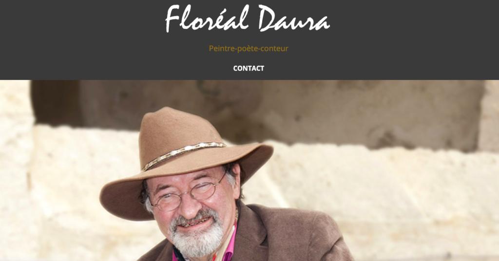 Floréal Daura – Peintre – Poète & Conteur